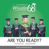 Photo taken at Universitas Islam Sultan Agung (Unissula) by Mosy M. on 10/1/2014