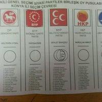 Photo taken at Kız Meslek Lisesi by Burak A. on 11/1/2015