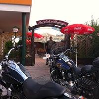 Photo taken at Die Laube Cafe & Beisl by Daniel P. on 10/24/2014
