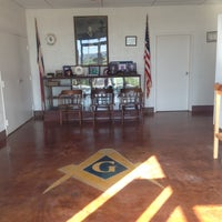 Photo taken at Graham Masonic Lodge #20 by TheSquirrel on 10/2/2012