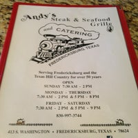Photo taken at Andys Steak and Seafood Grille by TheSquirrel on 3/3/2013