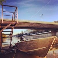 Photo taken at Pont de Puteaux by 🇫🇷 Julien S. on 11/12/2013