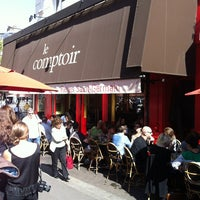 Photo taken at Le Comptoir du Relais by 🇫🇷 Julien S. on 9/16/2012