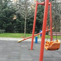 Photo taken at Çınarlı Park by Gazel G. on 3/4/2016