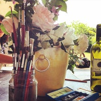 Photo taken at Villa Campestri - Olive Oil Resort by TooMuchTuscany on 5/17/2015