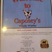 Photo taken at Caposey's Whole Works by Phil C. on 5/5/2014