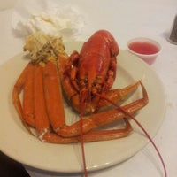 Photo taken at Lighthouse Lobster Feast by Phil C. on 1/20/2013