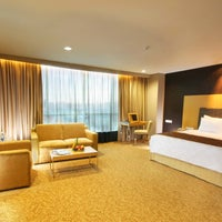 Photo taken at Swiss-Belhotel Mangga Besar by Swiss-Belhotel Mangga Besar on 10/3/2014