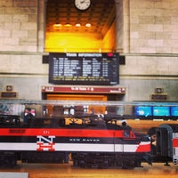 Photo taken at New Haven Union Station (NHV) - Metro North/Amtrak/Shore Line East by Rafi S. on 2/24/2013