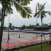 Photo taken at Pusat Latihan Polis Diraja Malaysia (PULAPOL) Kuching by Syahmi J. on 6/2/2016