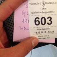Photo taken at Türkiye İş Bankası by Deniz O. on 12/15/2015