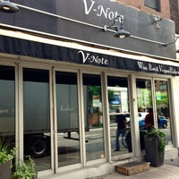 Photo taken at V-Note Vegan Bistro & Wine Bar by The Corcoran Group on 7/1/2013