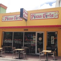 Photo taken at Pizza Girls WPB by The Corcoran Group on 8/21/2013
