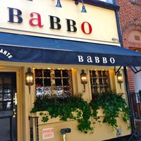 Photo taken at Babbo Ristorante by The Corcoran Group on 7/18/2013