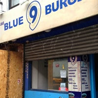 Photo taken at Blue 9 Burger by The Corcoran Group on 7/2/2013