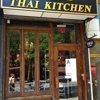 Photo taken at Osha Thai Kitchen by The Corcoran Group on 7/3/2013