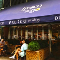 Photo taken at Fresco On The Go by The Corcoran Group on 7/16/2013