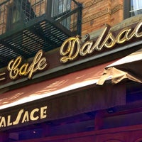 Photo taken at Cafe D'Alsace by The Corcoran Group on 7/1/2013