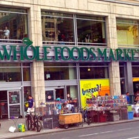 Photo taken at Whole Foods Market by The Corcoran Group on 7/18/2013