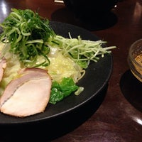 Photo taken at つけ麺本舗 辛部 五日市店 by Kasumi H. on 10/25/2014