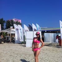 Photo taken at Mambo Beach & Sunset Bar by Nicoleta N. on 7/17/2013
