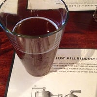 Photo taken at Iron Hill Brewery & Restaurant by David F. on 6/23/2013