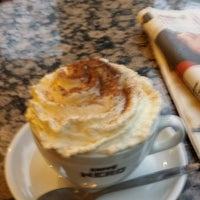 Photo taken at Caffè Nero by Stuart G. on 11/16/2014