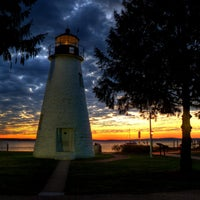 Photo taken at Concord Point and Lighthouse by Maryland on 11/27/2012