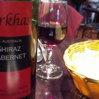 Photo taken at Gurkhas Brasserie by Ronak M. on 1/28/2013