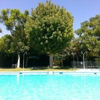 Photo taken at Piscina Alboaire by Fernando C. on 8/25/2014