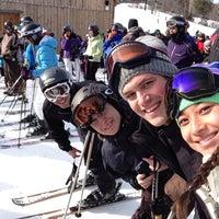 Photo taken at Mount Snow Main Base Lodge by Melissa K. on 1/19/2013