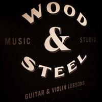 Photo taken at Wood & Steel Music Studios by Wood & Steel Music Studios on 1/12/2015