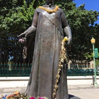 Photo taken at Queen Liliʻuokalani Statue by Kimberly D. on 6/6/2017