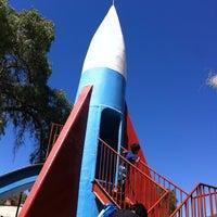 Photo taken at Parque del Cohete by Raúl C. on 11/8/2012