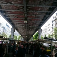 Photo taken at Marché de Grenelle by Martin S. on 4/23/2017