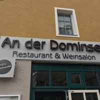 Das Foto wurde bei Restaurant An der Dominsel von Martin S. am 7/6/2018 aufgenommen
