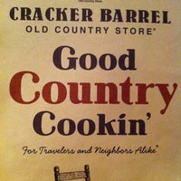 Photo taken at Cracker Barrel Old Country Store by Pam A. on 6/18/2013