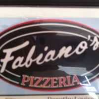 Photo taken at Fabiano's Pizzeria by Pam A. on 4/7/2013