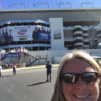 Photo taken at Charlotte Motor Speedway by Pam A. on 10/9/2016