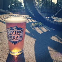 Photo taken at Living The Dream Brewing by Living The Dream Brewing on 9/27/2014