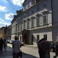 Photo taken at Hotel Beseda Prague by Evelyne V. on 7/16/2016