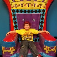 Photo taken at Pump It Up by Becky J. on 2/14/2013