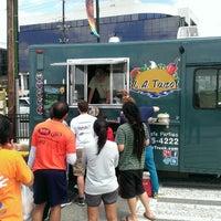 Photo taken at LA Taco Truck by Dan F. on 4/13/2013