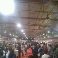 Photo taken at Exhibitions @ Palace Ground by Jitendra V. on 12/22/2012