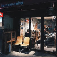 Photo taken at Lomography Gallery Store Taipei by Jeansman L. on 8/3/2015