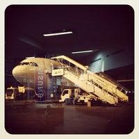 Photo taken at Tribhuvan International Airport (KTM) by Jeansman L. on 10/27/2012