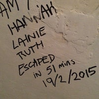 Photo taken at Lisbon Escape Game by Ruth S. on 2/19/2015