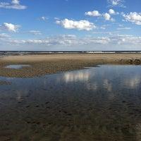 Photo taken at Higgins Beach by Nancy D. on 6/9/2013