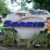 Photo taken at Soarin' by Kelly P. on 6/17/2013