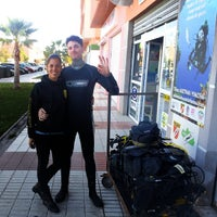 Photo taken at Buceo Calahonda Con-Air by Luis C. on 11/30/2013
